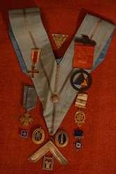 Коллекция из 10-ти масонских знаков и орденов. Европа,  США. XIX–нач.ХХ