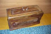 Продам футляр от немецкой швейной машинки Naumann.конец 19 века.
