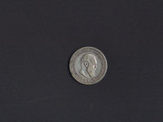 серебрянная монета 50 копеек 1894г Александр III. АГ